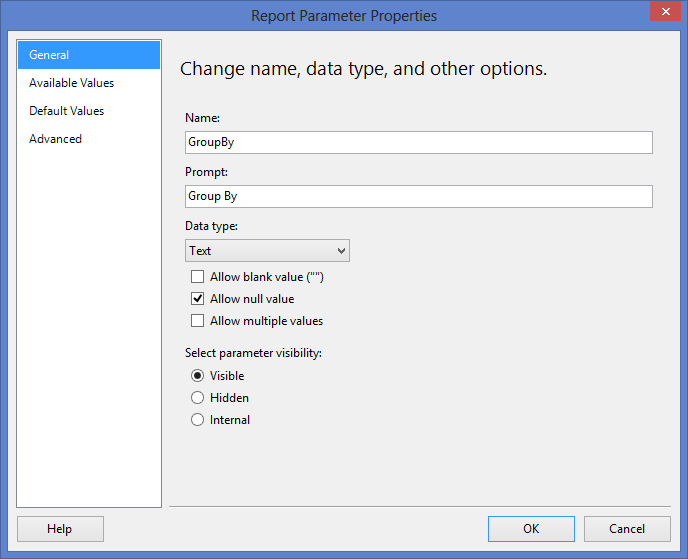 Build Dynamic Column Groups (and sub groups) in SSRS – Angel Willis