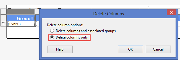 Build Dynamic Column Groups (and sub groups) in SSRS – Angel
